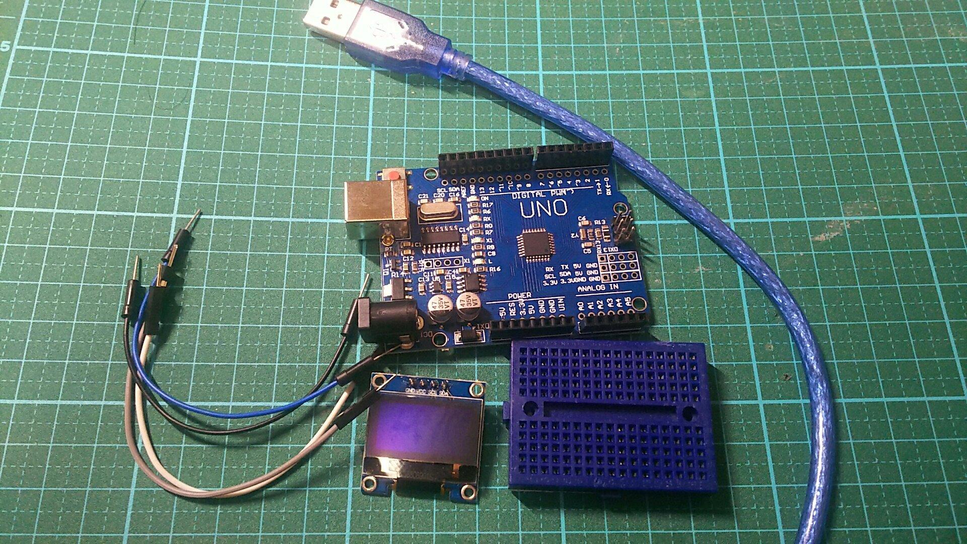 Arduinoで有機ELディスプレイ(OLED)を使う | 物を作る者